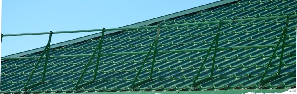 ограждения скатной крыши