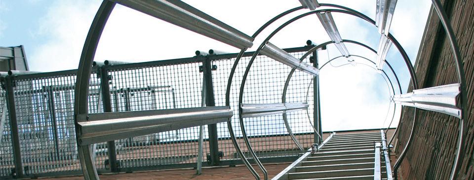 лестницы пожарные наружные стационарные и ограждения крыш