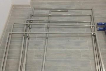 сборка стальных конструкций вешалок